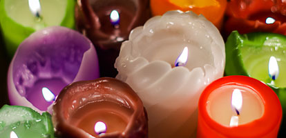 Significado de los colores de las velas