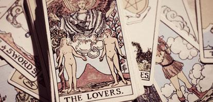 Tipos de cartas para el tarot